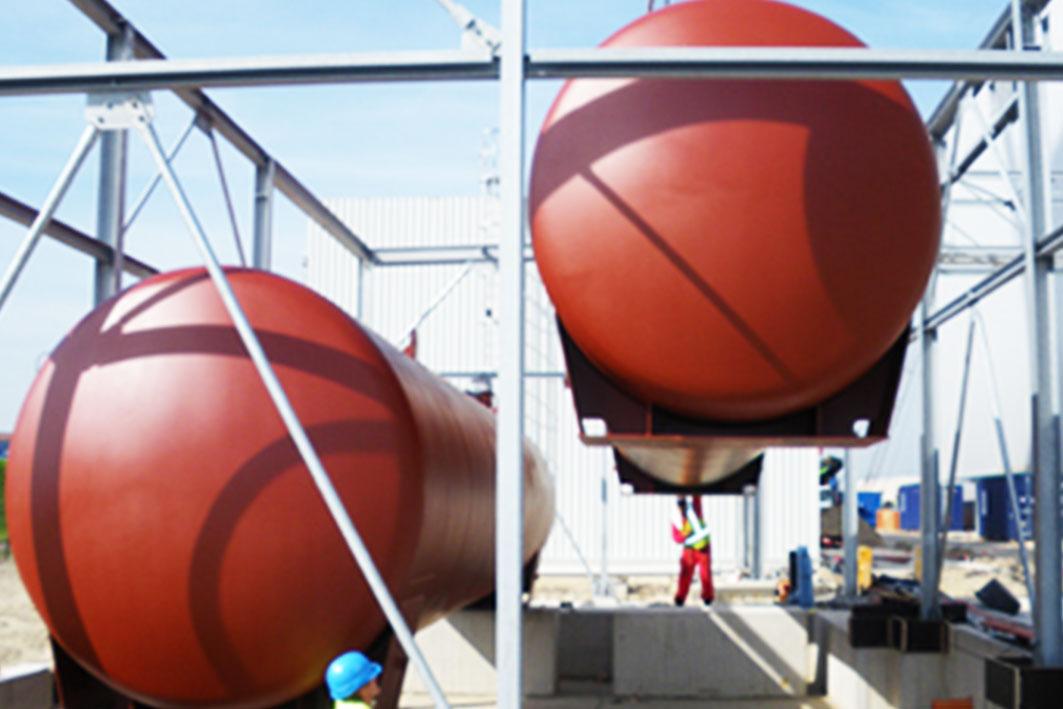 Tanklager Denox Anlagen Bild